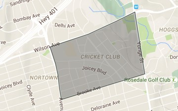 The Cricket Club neighbourhood